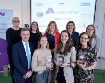 Biotangents Co-Founder Lina Gasiūnaitė wins the AccelerateHER Award!