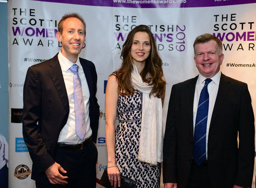 Biotangents Co-founder Lina Gasiūnaitė highly commended at Scottish Women's Award 2019