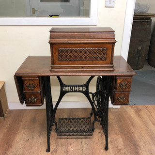 The Singer Sewing Table