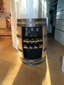 Wine Cave, burbon whisky cask.