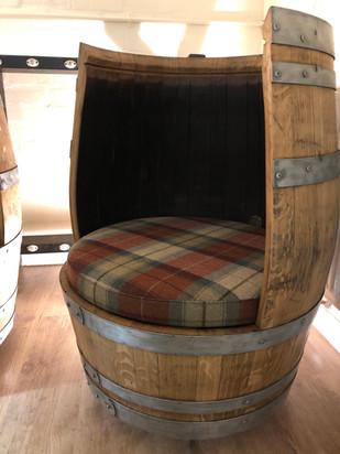The Makar Chair, whisky snug chair.