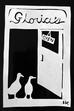 """""""Ducks Inside A Doorway"""""""