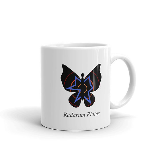 Datavizbutterfly - Radarum Plotus - Mug