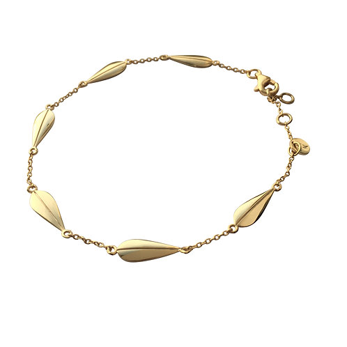 LOTUS Braclet - Goldplated