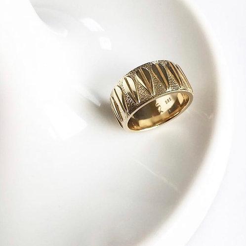LOTUS - Unisex Ring GOLD