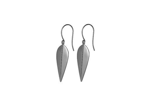 LOTUS - Earrings, Silver