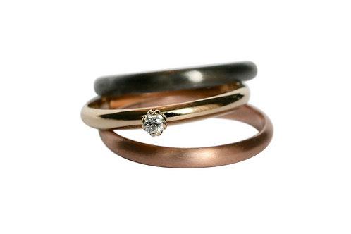 LOTUS DIAMOND - GOLD Ring
