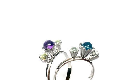 LOTUS FLOWER - Trippel Ring