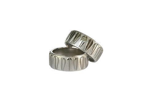 LOTUS - Unisex Ring, Silver