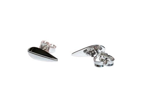 LOTUS - Petite Earrings, Silver