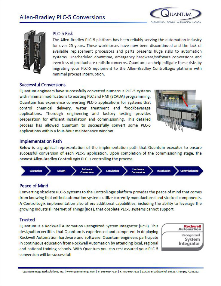 AB PLC-5 Upgrades