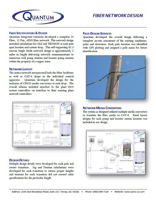 Fiber Network Design