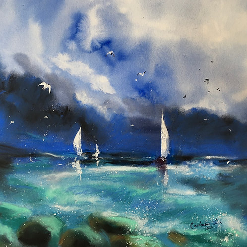 """""""Sea. After Storm"""""""