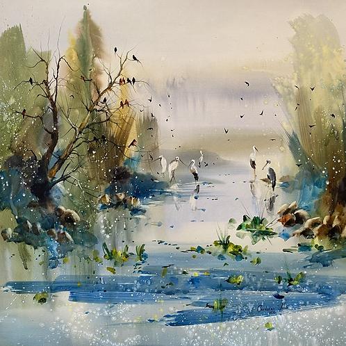 """""""Spring Heaven. Danube Delta"""""""