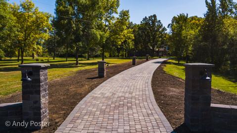 Beautiful Paver Driveway