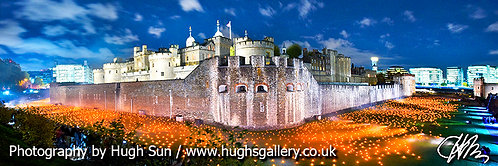 TW4-Candles at Tower of London (Panoramic)