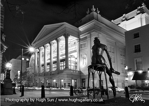 RO2-Royal Opera House (B/W)