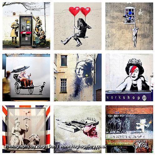 Banksy 9-in-1B