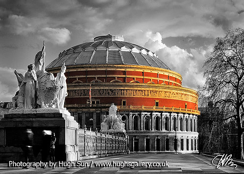 RA1-Royal Albert Hall (B/W-C)