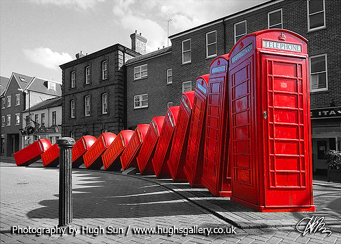 PH3-Phone Boxes (B/W-R)