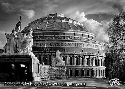 RA1-Royal Albert Hall (B/W)