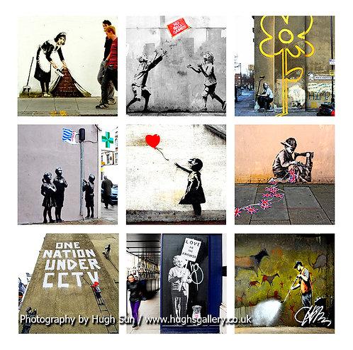 Banksy 9-in-1 A