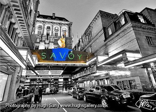SV1-Savoy Hotel (B/W)
