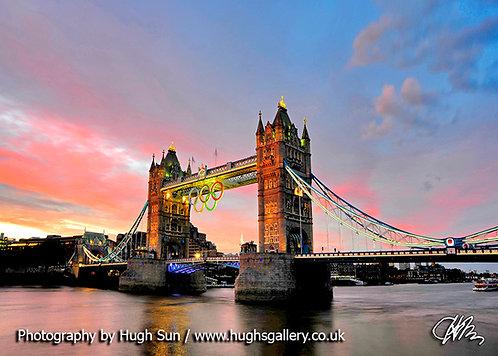 TB13-Tower Bridge & Olympic Rings