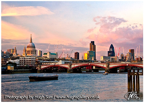 RT1-River Thames at Sunset
