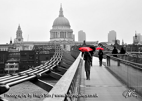 SP6-St Paul's Cathedral (B/W)