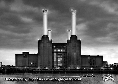 BS2-Battersea Power Station (B/W)