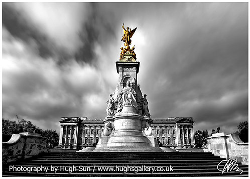 BP4-Buckingham Palace (B/W)