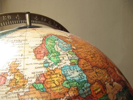 Die Welt macht eine Vollbremsung