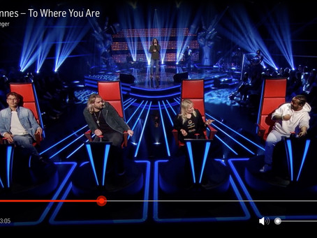 Anders i trippel-duell på The Voice