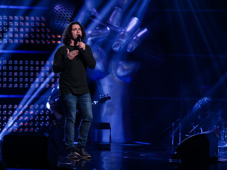 Østlands-Posten om Anders i The Voice 2017