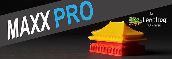 Leapfrog Maxx PRO Banner