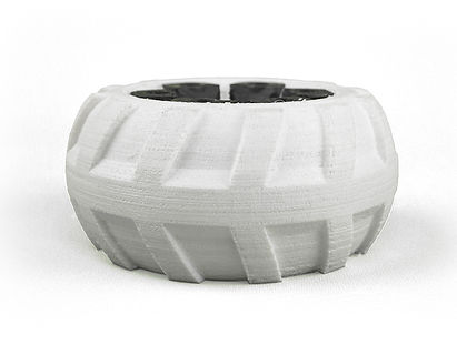 Flexible tire printed by Bolt PRO