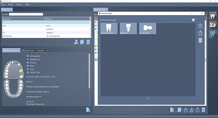 DentalCAD Interface 2