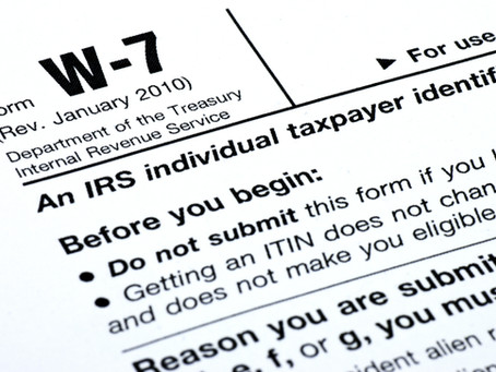 ITIN Renewal Process