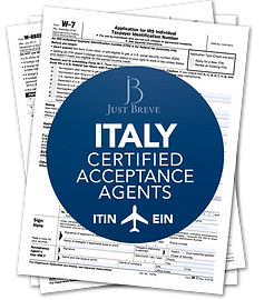 Certified Acceptance Agent in Italy