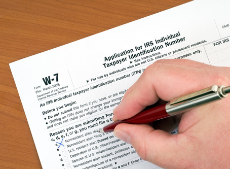 IRS ITIN CERTIFIED ACCEPTANCE AGENT