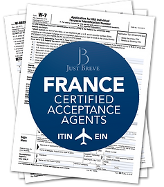 Certified Acceptance Agent in France