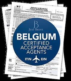 Certified Acceptance Agent in Belgium