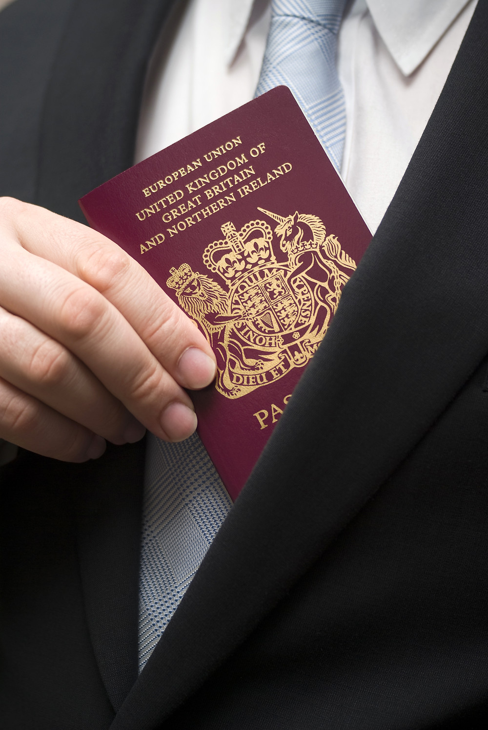 CAA in UK for certifying UK passport