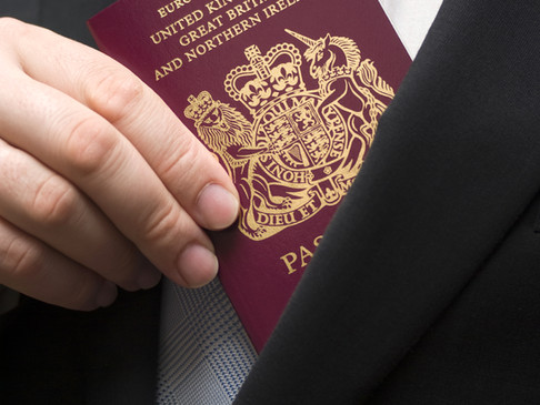 CAA in UK for certifying UK passport