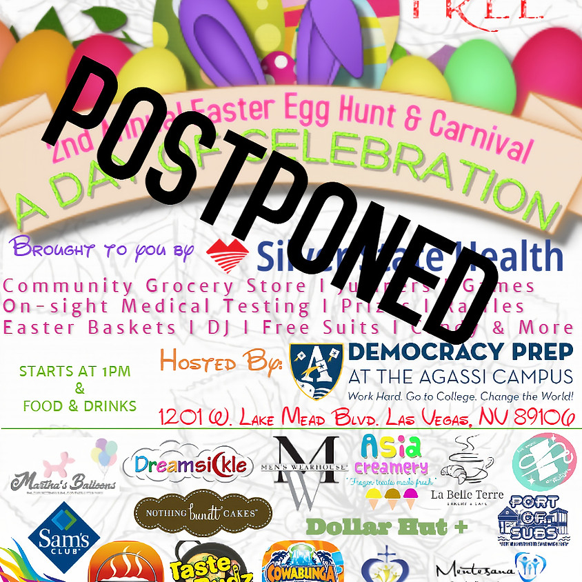 JET Foundation 2nd Annual Easter Egg Hunt & Carnival