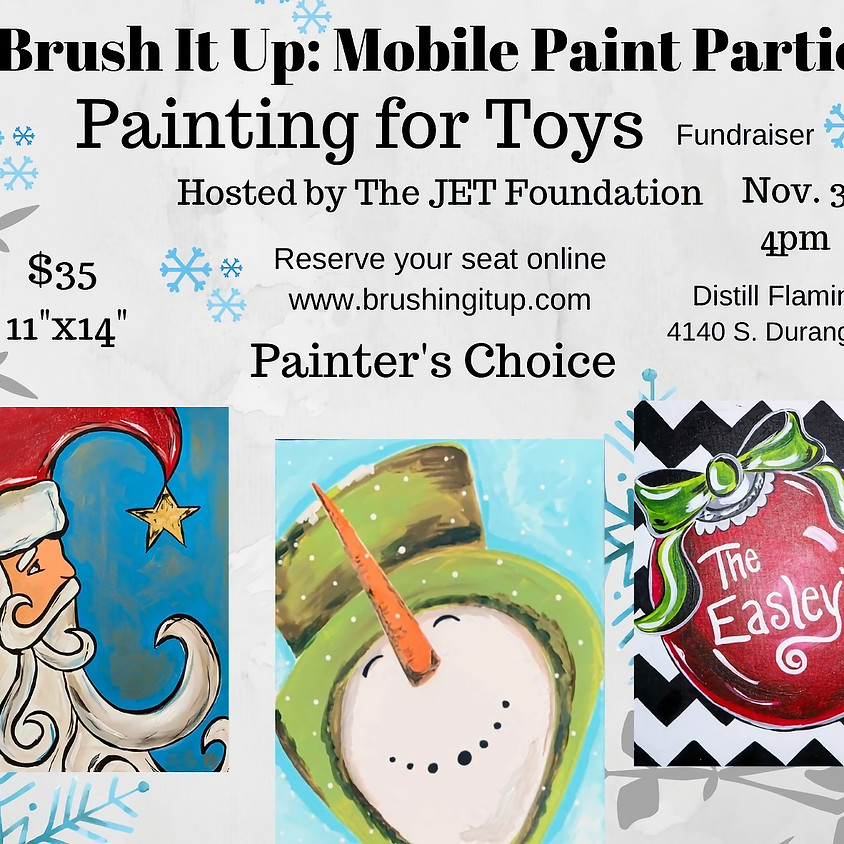 Painting for Toys Fundraiser