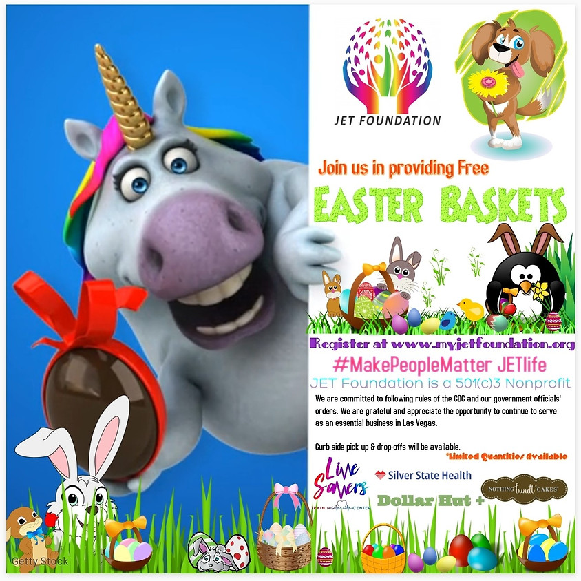 Join us in providing Free Easter Baskets