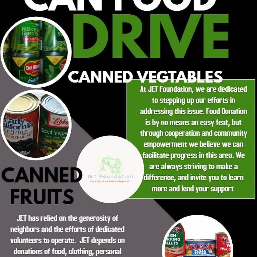 Can and non-perishable food drive