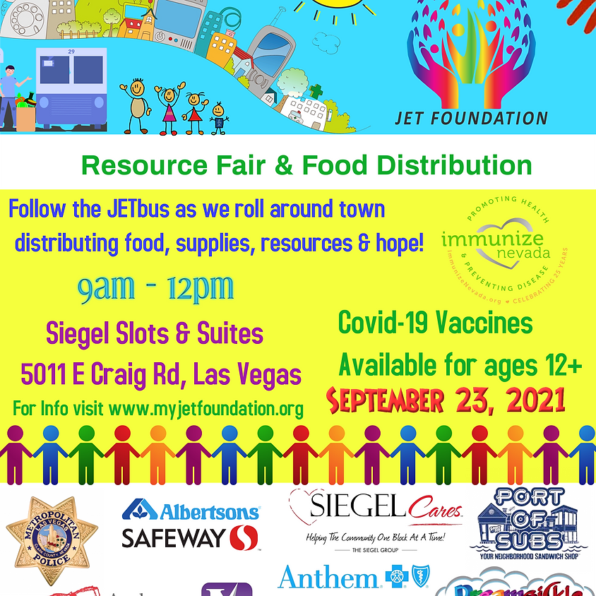 Siegel Suites Resource Fair & Food Distribution